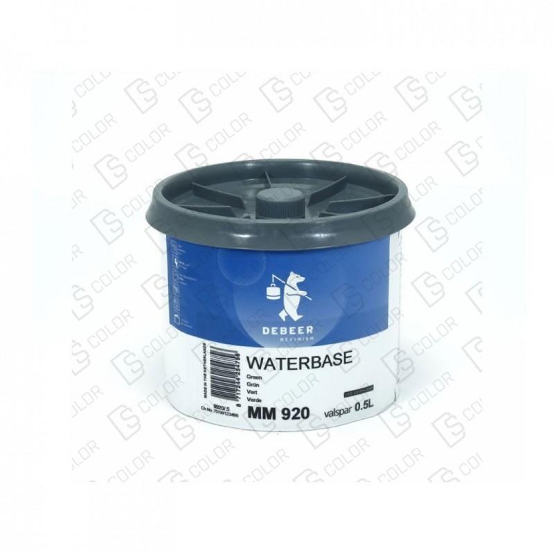 DS Color-WATERBASE SERIE 900-DE BEER MM920 0.5L W.B. Green