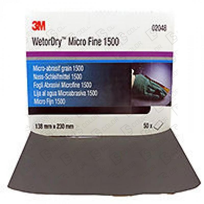 DS Color-3M-3M 02048 WetorDry 138x230mm CAJA 50 UND.P1500