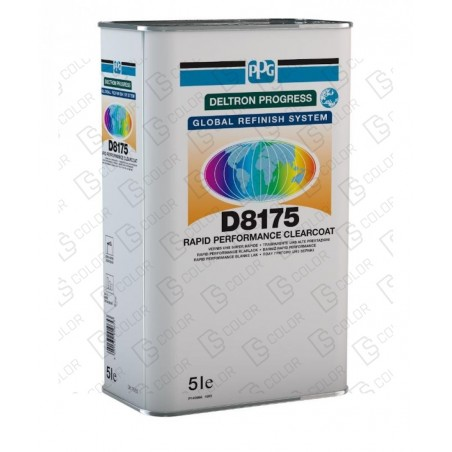 DS Color-PPG BARNICES-PPG D8175 RAPID PERFORMANCE CLEAR 5Lit.