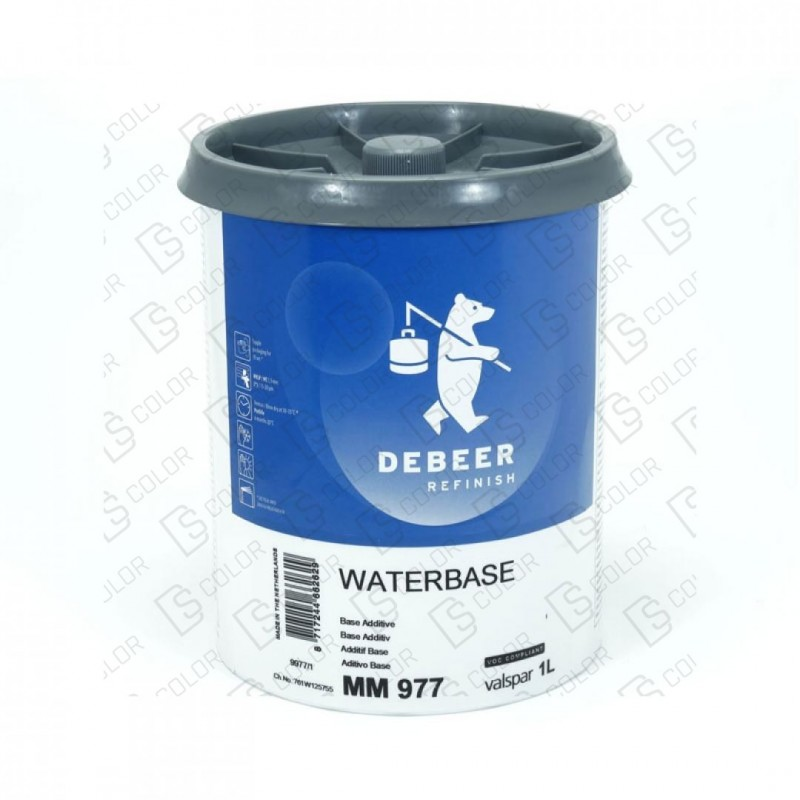 DS Color-WATERBASE SERIE 900-DE BEER MM977  1L W.B. Base Additive