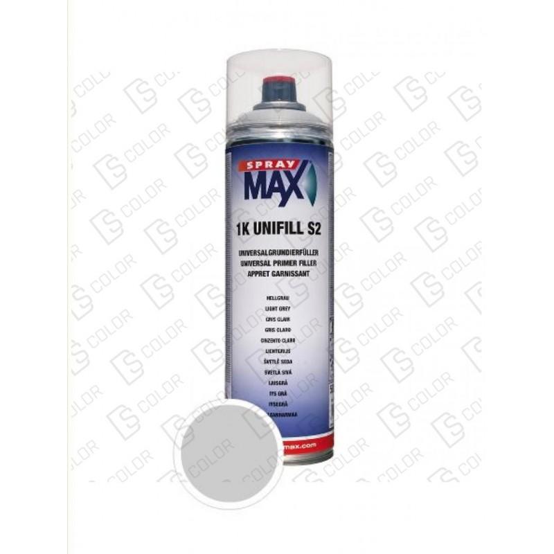 DS Color-SPRAYMAX-SPRAY MAX APAREJO Gris Claro S2 1K - 500ml