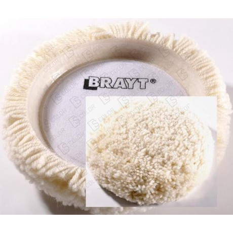SEA-LINE BRAYT SINGLE SIDE WOOL POLISHING PAD 8""