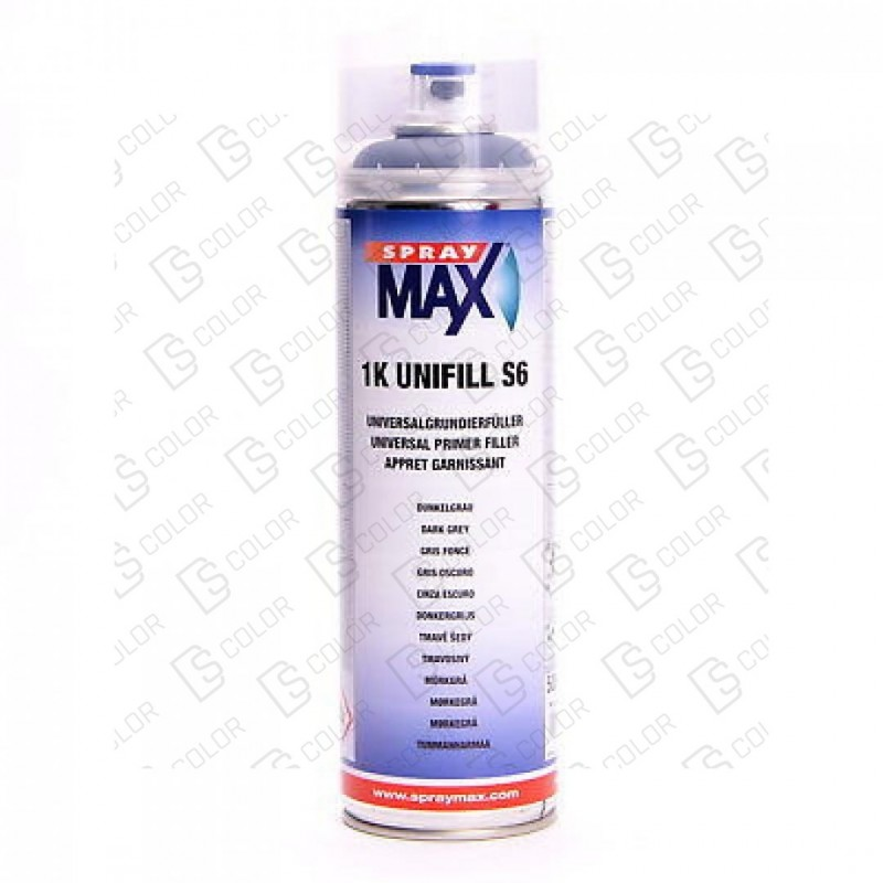 DS Color-SPRAYMAX-SPRAY MAX APAREJO Gris Oscuro S6 1K - 500ml