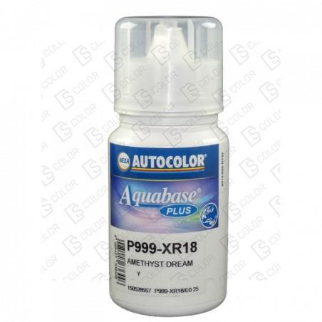 DS Color-OUTLET NEXA AUTOCOLOR-NEXA 999-XR18 AQUABASE PLUS 0.25LT//OUTLET