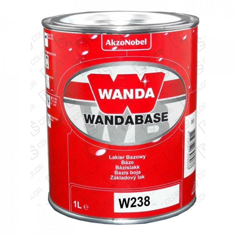 DS Color-WANDABASE-WANDA WB238 NARANJA (ROJO) TRANSP. 1LT
