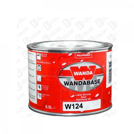 DS Color-WANDABASE-WANDA WB124 AMARILLO (NARANJA) TRANSP. 0,5LT