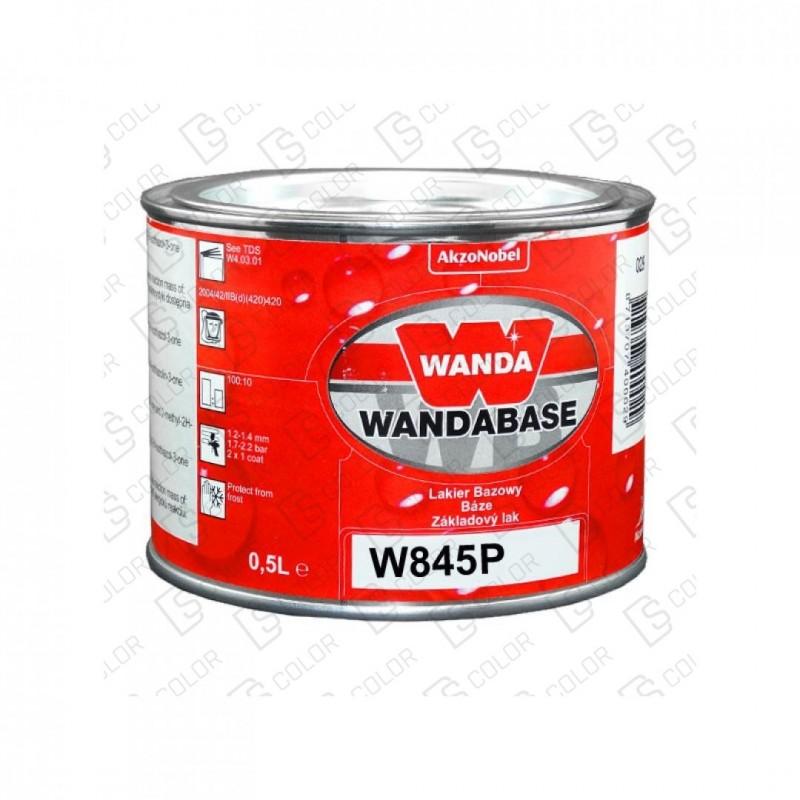 DS Color-WANDA-WANDA WB845P VIOLETA (AZUL) PERLADO 0,5LT