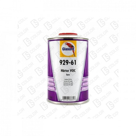 DS Color-GLASURIT CATALIZADORES-GLASURIT CATALIZADOR VOC 929-61 RAPIDO 1LT