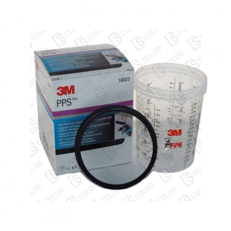 DS Color-3M-3M PPS SISTEMA PREPARACION PINTURA VASO RIGIDO 850ML