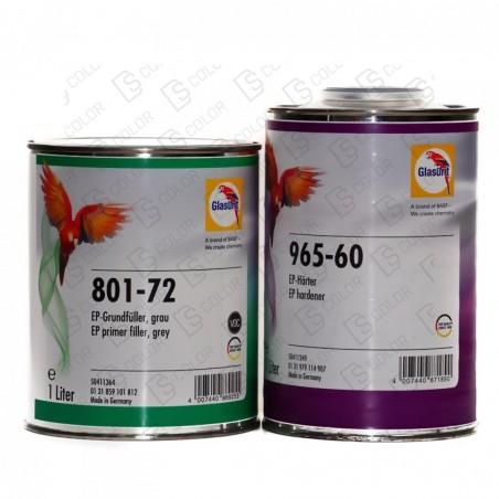 DS Color-GLASURIT APAREJOS-KIT GLASURIT IMPRIMACION EPOXY 801-72+965-60 1LT
