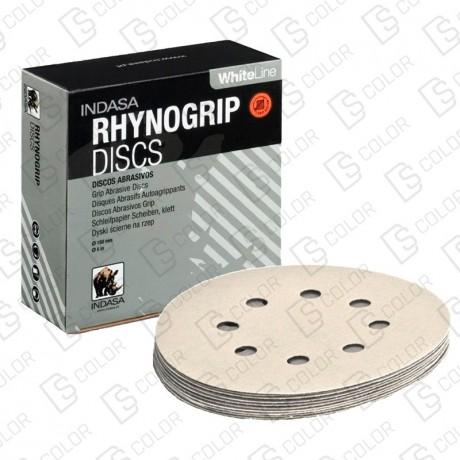 DS Color-INDASA-INDASA RHYNOGRIP WHITE LINE D150 15A P40 (50u.)