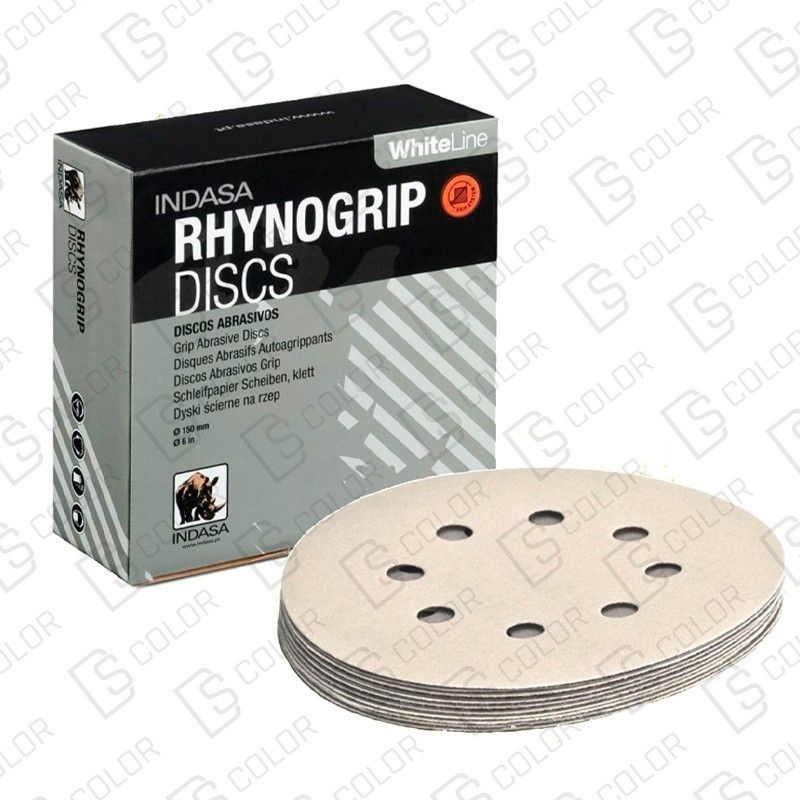 DS Color-INDASA-INDASA RHYNOGRIP WHITE LINE D150 15A P500 (50ud)