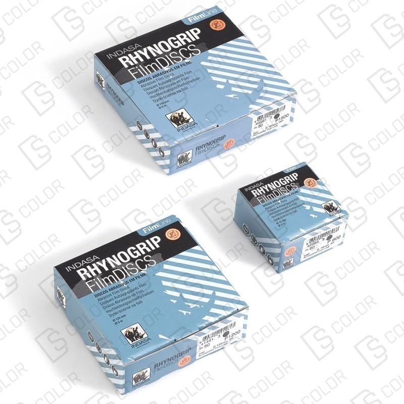 DS Color-INDASA-INDASA RHYNOGRIP FILM DISCO D75 P400 (50u.)