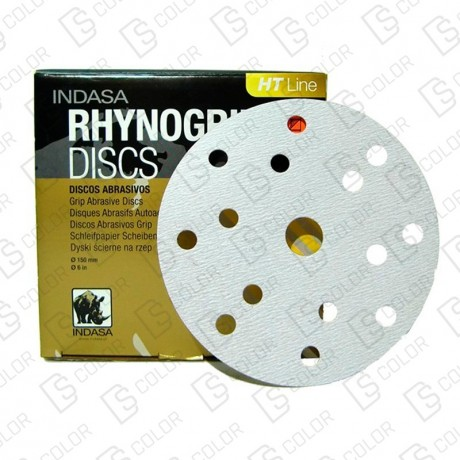 DS Color-INDASA-INDASA RHYNOGRIP HT D150 ULTRAVENT 57A P220 (50u)