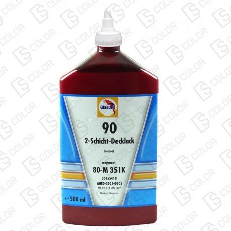 DS Color-SERIE 90-GLASURIT 80-M 351K 0.5LT (Antes 350K)