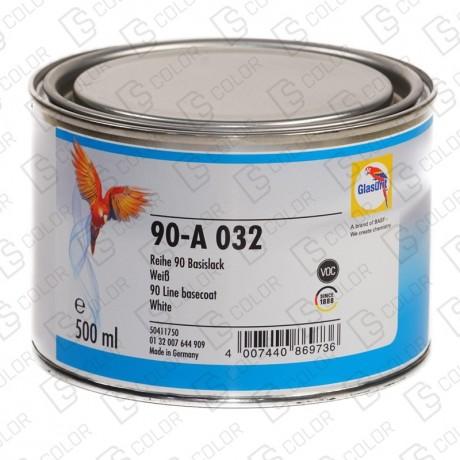 DS Color-SERIE 90-GLASURIT 90-A 032 BLANCO 0.5L