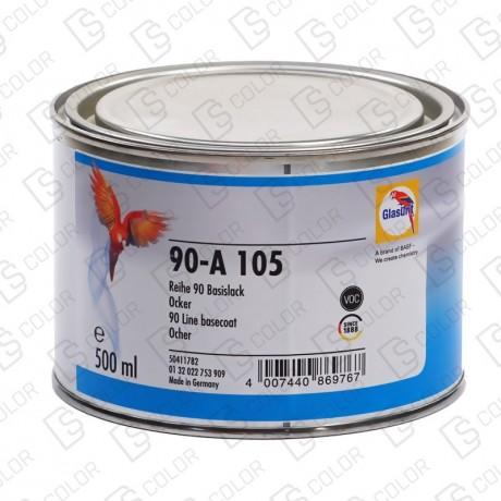 DS Color-SERIE 90-GLASURIT 90-A 105 OCRE 0.5LT