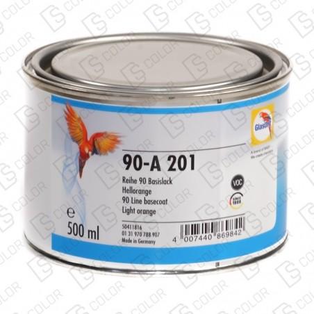 DS Color-SERIE 90-GLASURIT 90-A 201NARANJA CLARO 0.5LT