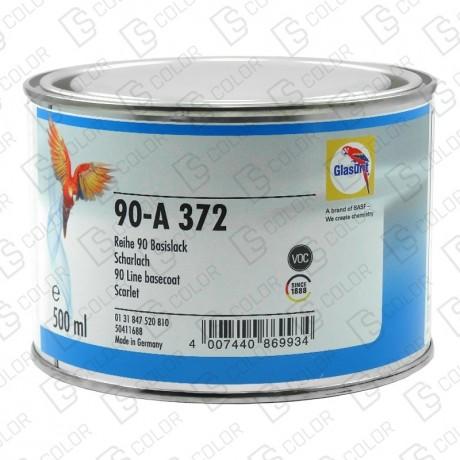 DS Color-OUTLET GLASURIT-GLASURIT 90-A 372 ESCARLATA 0.5LT //OUTLET