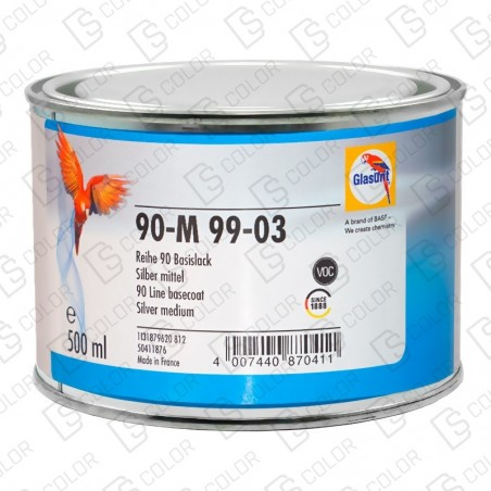 DS Color-SERIE 90-GLASURIT 90-M 99/03 0.5LT