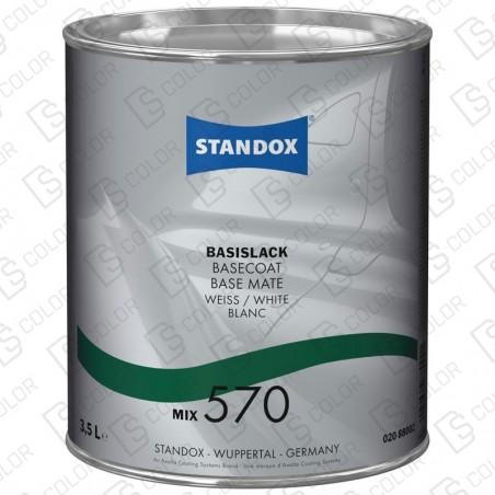 DS Color-BASISLACK-STANDOX 2K MIX 570 3.5LT S.H MB501