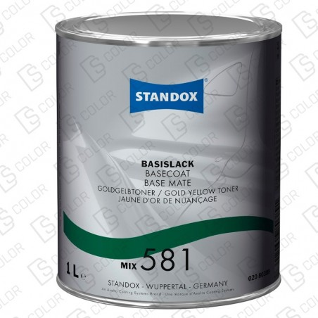 DS Color-BASISLACK-STANDOX 2K MIX 581 1LT S.H MB532