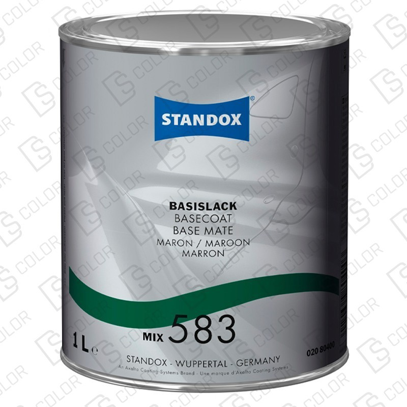 DS Color-BASISLACK-STANDOX 2K MIX 583 1LT S.H. MB581
