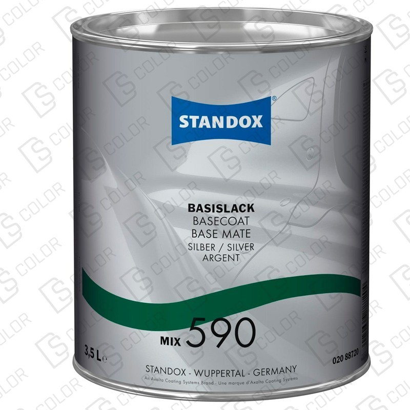 DS Color-BASISLACK-STANDOX 2K MIX 590 3.5LT S.H. MB514