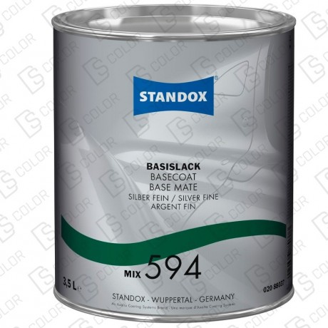 DS Color-BASISLACK-STANDOX 2K MIX 594 3.5LT S.H MB518