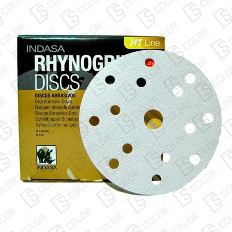 DS Color-INDASA-INDASA RHYNOGRIP HT D150 ULTRAVENT 57A P1500 (50u)