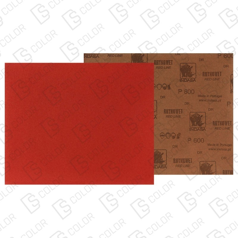 DS Color-INDASA-INDASA RHYNOWET RED LINE HOJA 230x280 P2000 unidad