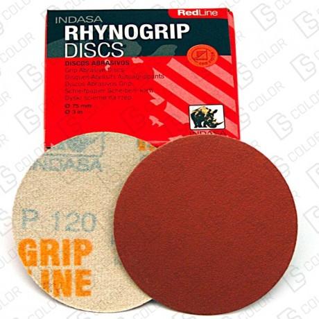 INDASA RHYNOGRIP RED LINE D75 P320 (50u.)