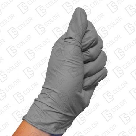 DS Color-COLAD PROTECCIÓN E HIGIENE-COLAD GUANTES NITRILO GRIS XL (50UD)