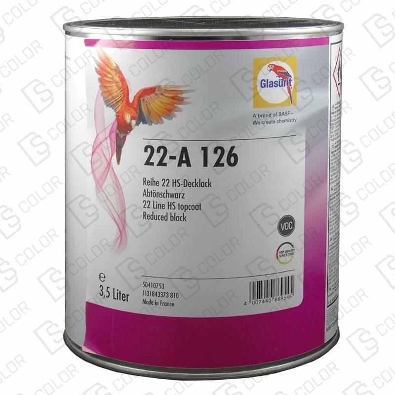 DS Color-SERIE 22-GLASURIT 22-A 126 3,5LT.