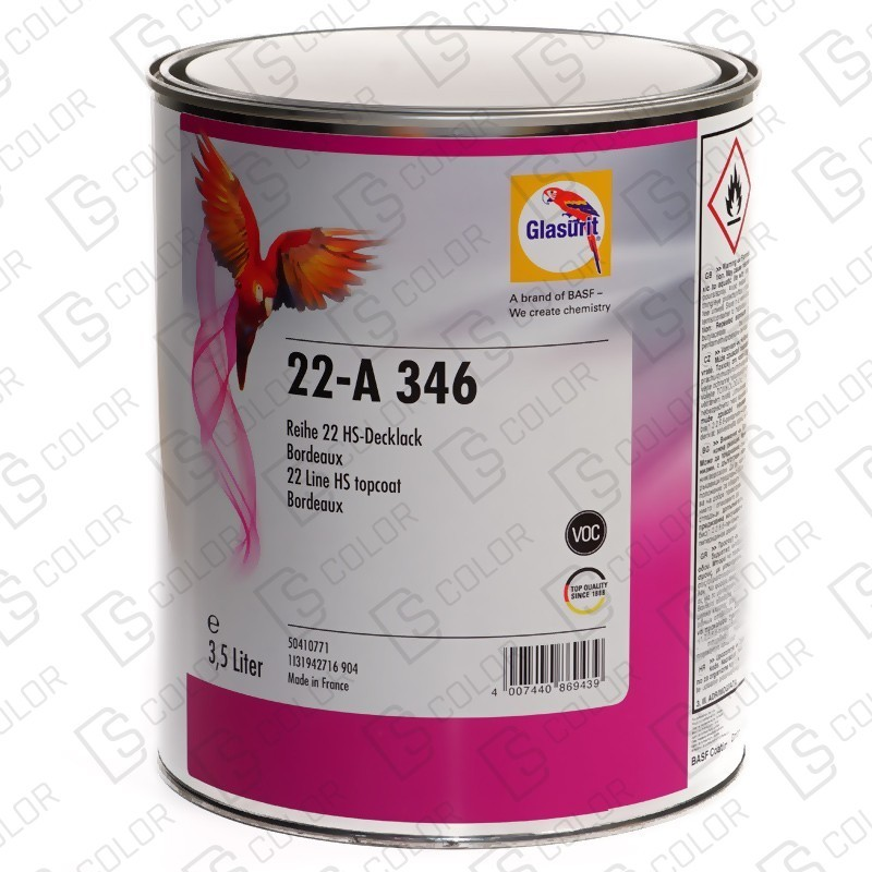 DS Color-SERIE 22-GLASURIT 22-A 346 3,5LT.