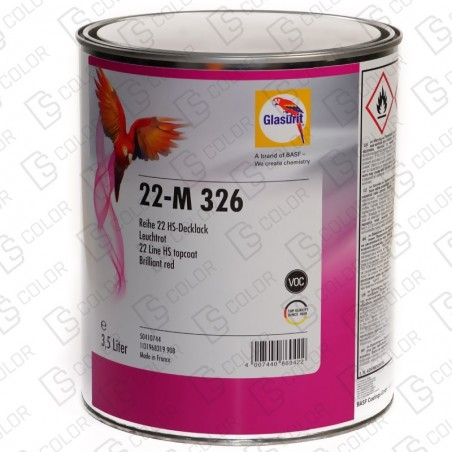 DS Color-SERIE 22-GLASURIT 22-M 326 3,5LT.