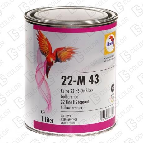 DS Color-SERIE 22-GLASURIT 22-M 43 1L.