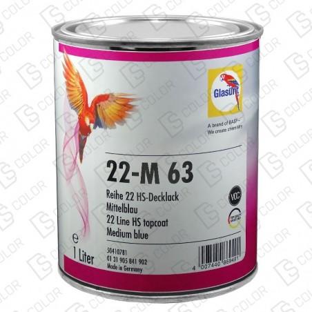 DS Color-SERIE 22-GLASURIT 22-M 63 1LT.