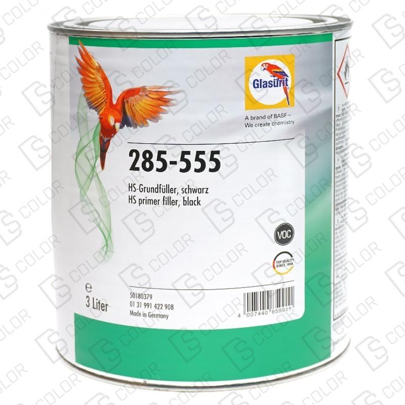 DS Color-GLASURIT APAREJOS-GLASURIT APAREJO 285-555 3LT NEGRO