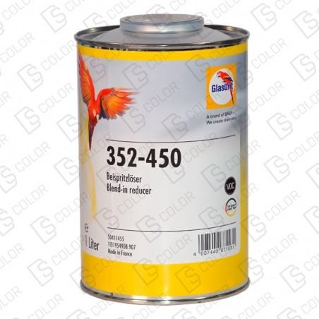 DS Color-GLASURIT ADITIVOS Y OTROS-GLASURIT DISOLVENTE DIFUMINADOS 352-450 1LT
