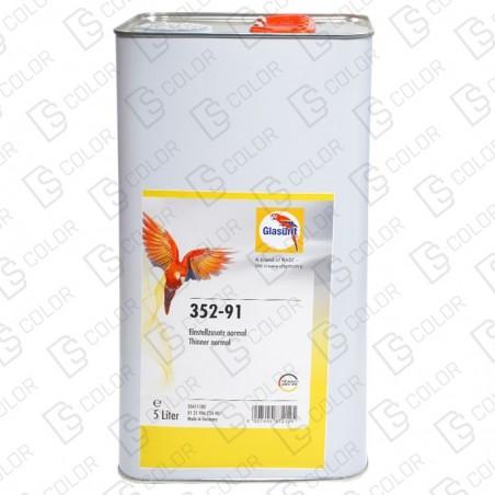 DS Color-GLASURIT ADITIVOS Y OTROS-GLASURIT 352-91 DISOLVENTE NORMAL 5LT.