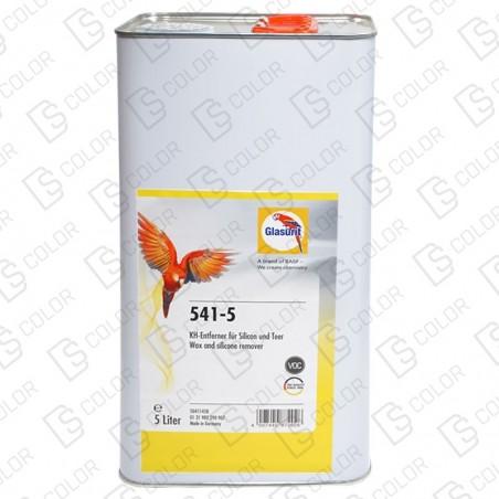 DS Color-GLASURIT ADITIVOS-GLASURIT DISOLVENTE 541-5 LIMPIADOR SILICONAS 5L