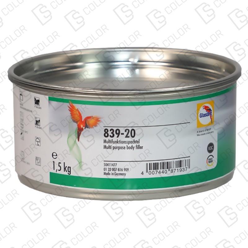 DS Color-GLASURIT MASILLAS-GLASURIT MASILLA 839-20