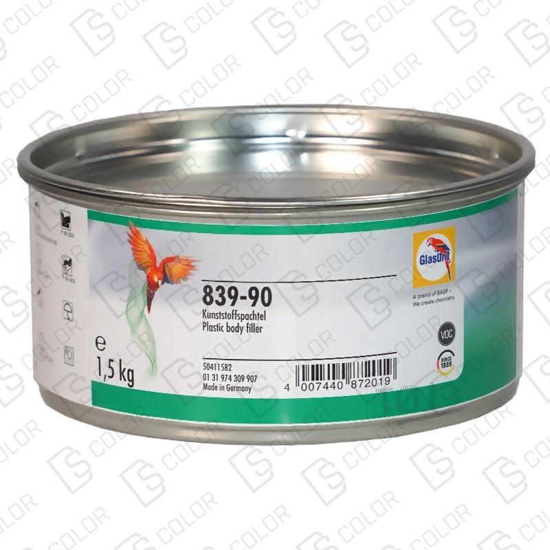 DS Color-GLASURIT MASILLAS-GLASURIT 839-90 MASILLA PARA PLASTICOS 1,5KG