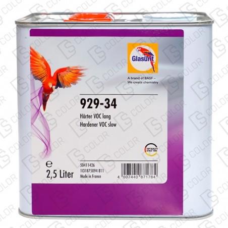 DS Color-GLASURIT CATALIZADORES-GLASURIT CATALIZADOR 929-34 2.5LT lento