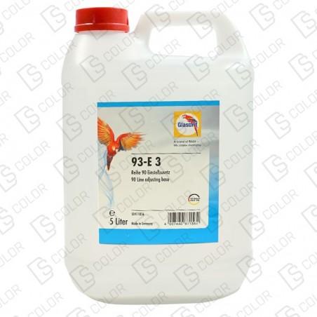 DS Color-SERIE 90-GLASURIT 93-E3 SOLUCION ACUOSA 5Lit