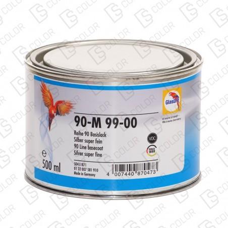 DS Color-SERIE 90-GLASURIT 90-M 99/00 SILVER SUPER FINE 0.5LT