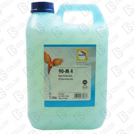 DS Color-SERIE 90-GLASURIT 90-M4 MEZCLA ACUOSA DE RESINA 5LT