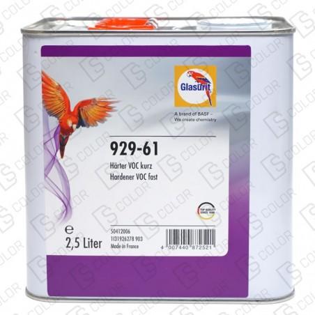 DS Color-GLASURIT CATALIZADORES-GLASURIT CATALIZADOR VOC 929-61 RAPIDO 2.5LT