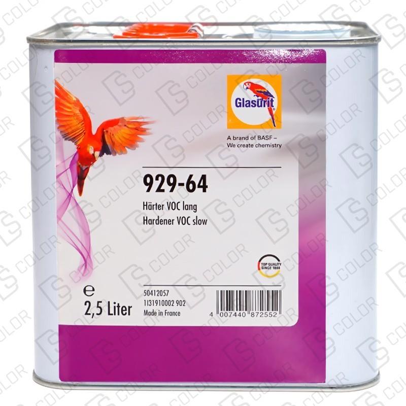 DS Color-GLASURIT CATALIZADORES-GLASURIT CATALIZADOR VOC 929-64 LENTO 2.5LT